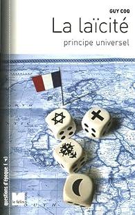 La laïcité, principe universel par Guy Coq
