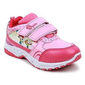 MYAU Boy's & Girl's Velcro Closure Casual Sneakers