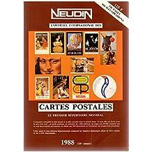 Catalogue Neudin 1988, l'officiel international des cartes postales
