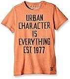 Garcia Kids Jungen T-Shirt N63611, mit Print, Gr. 164 (Herstellergröße: 164/170), Orange (Copper 1632)