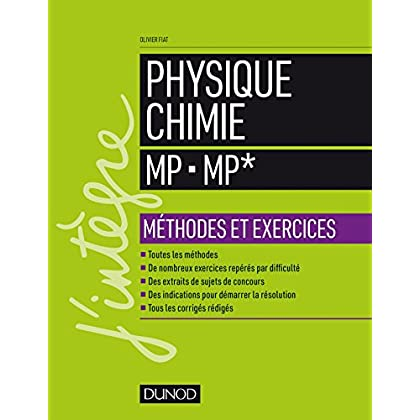 Physique-Chimie MP - MP* - Méthodes et exercices