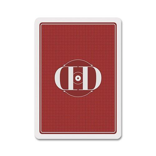 Mazzo di carte Smoke & Mirrors - Rouge by Dan and Dave - Mazzi di carte da gioco Dan and Dave - Giochi di Prestigio e magia