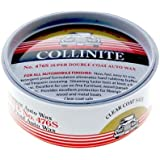 Collinite 476s Super Double Coat - Kit de cera para coches de 255 g, incluye aplicador y paño abrillantador