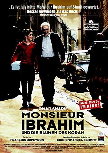 Monsieur Ibrahim und die Blumen des Koran (2003)   original Filmplakat, Poster [Din A1, 59 x 84 cm]
