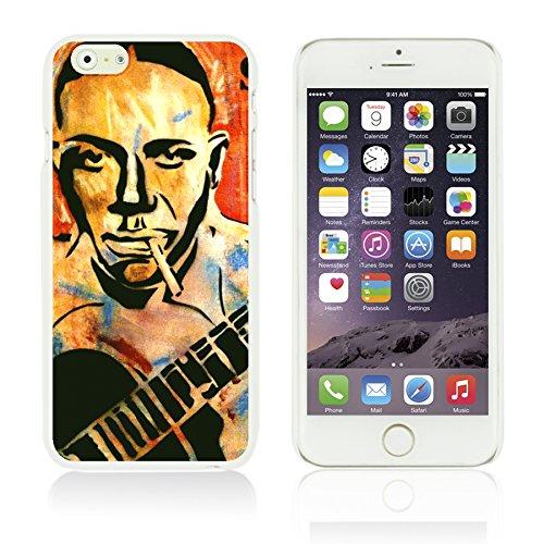OBiDi - Celebrity Star Hard Back Case / Housse pour Apple iPhone 6 / 6S (4.7 inch)Smartphone - Marvin Gaye Robert Johnson