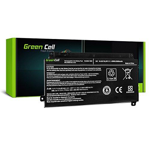 Green Cell® PA5208U-1BRS Laptop Akku für Toshiba Satellite Radius 14 E45W L40DW L40W 15 P50W P55W, Satellite Fusion 15 L55W, Toshiba ChromeBook 2 CB30-B (Li-Polymer Zellen 3860mAh 10.8V Schwarz)
