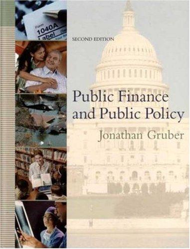 Public Finance and Public Policy por Jonathan Gruber