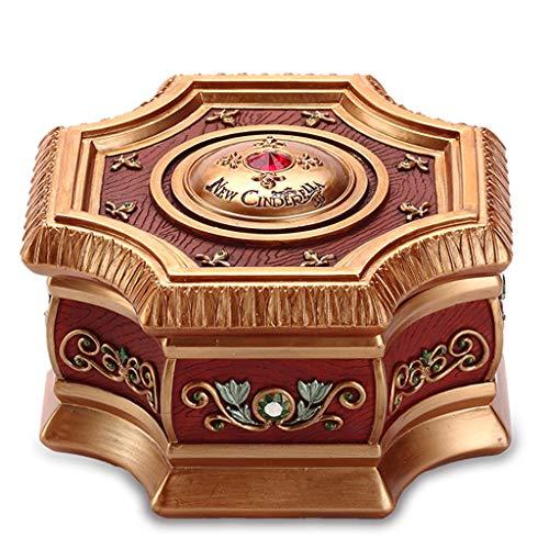 ZJ- à musique Music Box Envoyez aux Enfants des Anniversaires de Noël Cadeaux créatifs Boîte à Bijoux rotative
