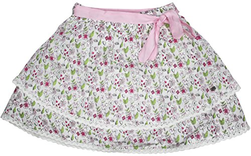 FS Mini Klub Girls' Cotton Skirt (88KGBSK0614 PINK PRINT, Pink, 4 - 5 Years)  available at amazon for Rs.279
