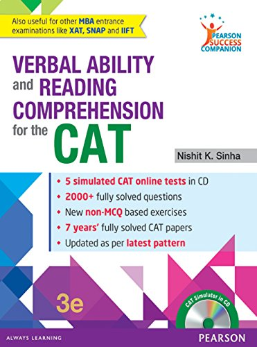 Image result for Verbal Ability and Reading Comprehension for CAT and MBA Entrance Examination by TIME