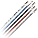 Estate CABLE SC Goblin OFC 2x 0,14mm² cavo patch schermato microfono al metro, Rosso