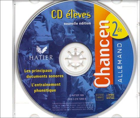 Chancen : Allemand, seconde (CD audio)