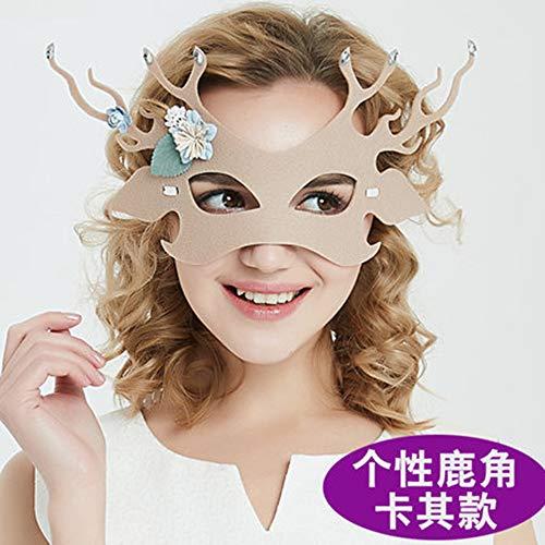Fanfan Lace Masquerade Maske Halloween Eyemask Venezianische Masken Sexy Lady Girl Spitze Augenmaske Für Halloween Kostüm Ball Carnival Party, Schwarz,7 (Sieben Menschen Halloween-kostüm)