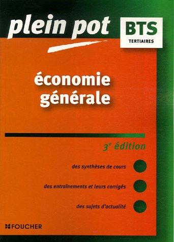 Economie générale BTS, DUT tertiaires