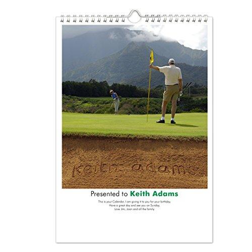 Golf Personalisierte Kalender (Persönliche Sig)