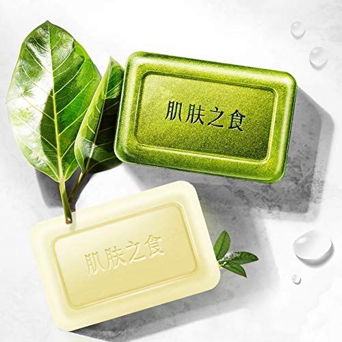 Lucoss Sulfur Soap Moisturizing Anti-Acarine Anti-Acne Shrink Pore Soap Nourishing Face Night