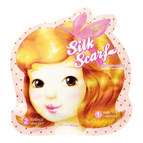 ETUDE HOUSE Silk Scarf Double Care Hair Mask Korean Beauty [Imported]