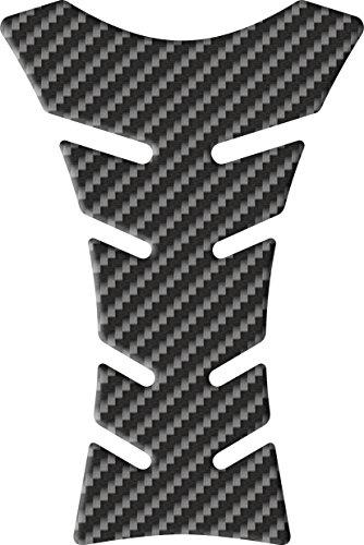 Tankpad Light Carbon - Tankschutz für Motorräder | Schützt den Tank vor Kratzern und Scheuerstellen | Haftsicher mit 3M Glue | 14 x 21 cm | Passend für alle gängigen Motorradtanks - Motifpad