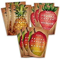 Getrocknete Früchte I 9er Set I Natürlicher Frucht Snack aus Apfel, Mango, Ananas, Erdbeere I Luftgetrocknet I Trockenobst 9x40g
