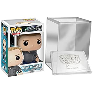 Funko Pop Movies Fast Furious Brian OConner Figure FUNKO PROTECTIVE CASE