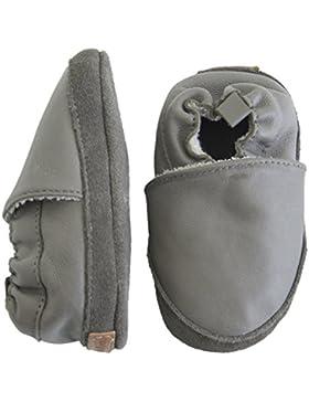 Melton Unisex Baby Krabbelschuh Weichem Leder Krabbel-& Hausschuhe