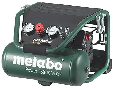 Metabo Power 250–10W OF–10CV Compresseur 2litres sans huile, la construction