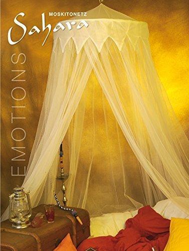 Moustiquaire: Des moustiquaires avec Baldaquin, Moustiquaire en plusieurs couleurs 2,5 x 12m - Sahara (jaune)