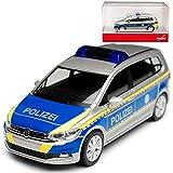 Volkwagen Touran II Polizei Bayern 2. Generation Ab 2015 H0 1/87 Herpa Modell Auto