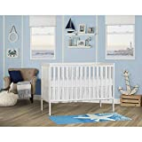 Dream On Me, Synergy,5 in 1 Convertible Crib ,657-W,White