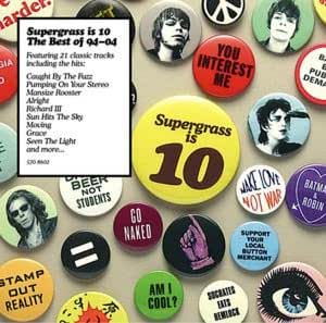 Supergrass Is Ten-Best of [VINYL]