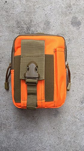 Outdoor, Athletisch, Taktische Camo, Tragbare, Bergsteigen, Taille - Tasche Orange