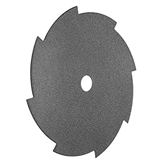 Hojas de sierra de herramientas rotativas, sierra 255×25.4×1.6mm Hoja de sierra de corte de desbrozadora de 8 dientes con cuchilla de corte Hoja de sierra de disco de corte de la gema, crist