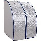 Portátil FIR sauna del infrarrojo lejano del ahorrador del espacio de sauna con cojín de calefacción Alimentos y silla de interior Inicio