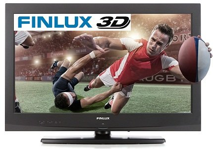 Finlux 32H7020-D 32-Inch Widescreen HD Ready LED 3D TV with Freeview & USB PVR - Black (discontinued by manufacturer)