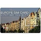TSIM Europe SIM Card 1 to 10 GB Data and Voice (1GB)