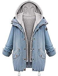 be6da2b0f591 Suchergebnis auf Amazon.de für  Jeansjacke Damen Lang - Jeans  Bekleidung