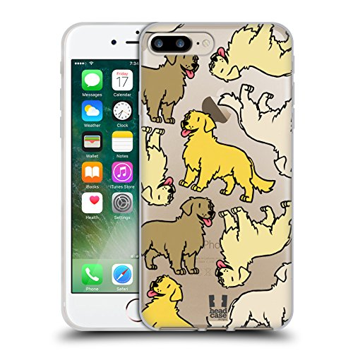 Head Case Designs Cavalier King Charles Spaniels Hunderasse Muster 3 Soft Gel Hülle für Apple iPhone 6 / 6s Golden Retriever