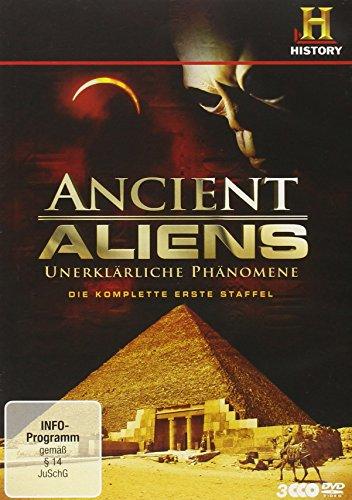 Preisvergleich Produktbild Ancient Aliens - Unerklärliche Phänomene, Staffel 1 [3 DVDs]