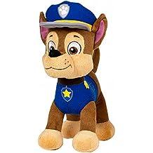 peluche Chase paw patrol patrulla canina de 27 cm (PRODUCTO ORIGINAL)