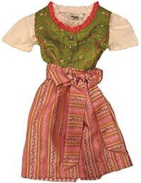 Fijo liches Niños tirolesa con blusa y Tracht Delantal Talla 68–164