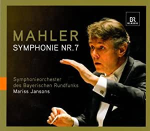 Mahler: Symphony No.7 by Mahler, Sym Orch Des Bayerischen Rundfunks, Jansons (2009) Audio CD
