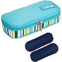Diabetikertasche ONEGenug Kühltasche Insulin Tasche für Diabetes Spritzen,Insulininjektion und Medikamente 20x4x9cm