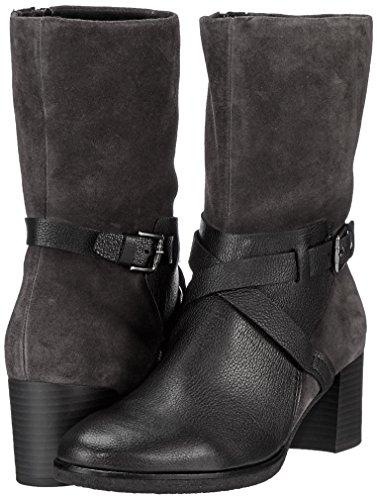 Gabor Shoes Damen Comfort Sport Stiefel, Schwarz (Schw/Dkgreymicro), 43 EU - 5