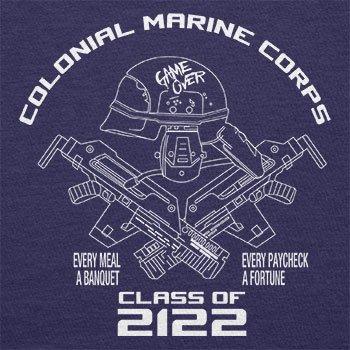 TEXLAB - Colonial Marine Corp Class of 2122 - Herren T-Shirt Navy