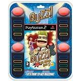 Buzz The Music Quiz & 4 Buzzers (PS2) [Importación Inglesa]