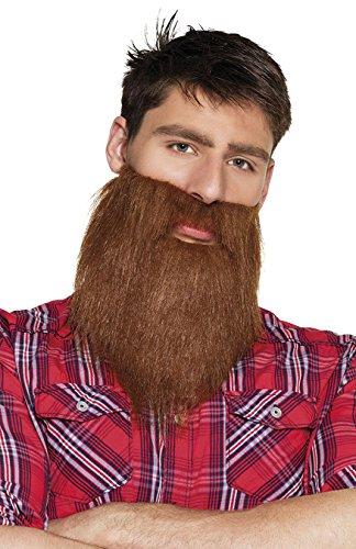 Boland 01841 Bart Hipster, One Size (Der Holzfäller Kostüm)