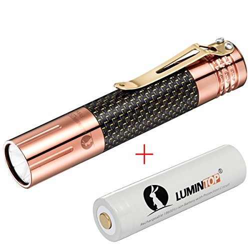 LUMINTOP Prince Copper 1000 Lumens CREE XM-L2 U2 LED Taschenlampe