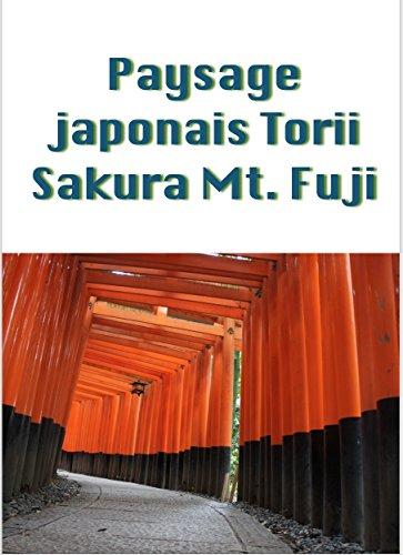 Couverture du livre Paysage japonais Torii Sakura Mt. Fuji