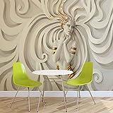 Skulptur Yoga Frau Wirbel Griechisch - Forwall - Fototapete - Tapete - Fotomural - Mural Wandbild - (3043WM) - XL - 208cm x 146cm - VLIES (EasyInstall) - 2 Pieces