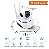 #3: Rewy Wireless 360° HD IP Wifi CCTV Indoor Security Camera With Live Video Streaming on Mobile/Laptop (White)
